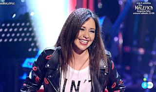 Cristina Saiz canta Chandelier de Sia. La Voz Asaltos