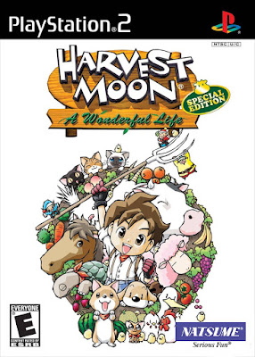Harvest Moon: A Wonderful Life Special Edition PS2 GAME ISO