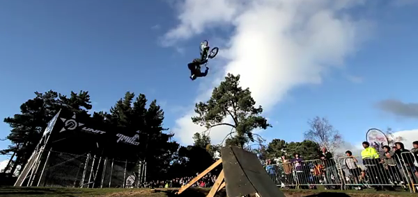 Jed Mildon First BMX Triple Backflip