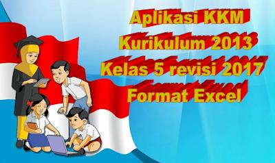 Aplikasi KKM K13 kelas 5