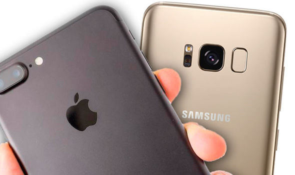 37e2a8e1d مقارنة بين هاتفين iPhone 7 Plus و Samsung Galaxy S8 plus - عالم ...