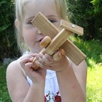 Lotes Toys Wooden Airplane I (FY01)
