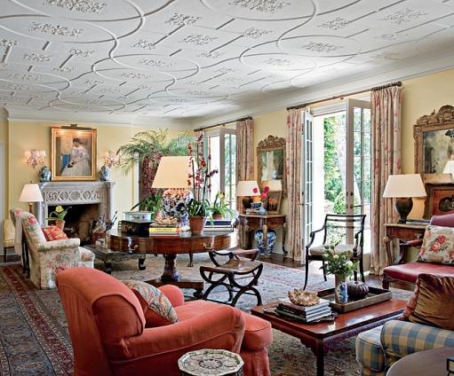 New home interior design a tudor for california - Tudor style house interior ...