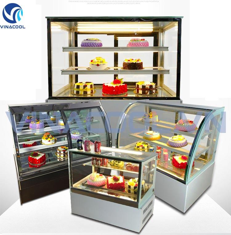 tủ trưng bày bánh ngọt vinacool