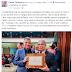 Prefeito Dinha prestigia entrega de título ao Pastor Henoch Protásio