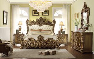 HD 8008 BEDROOM - jepara real wood furniture ready
