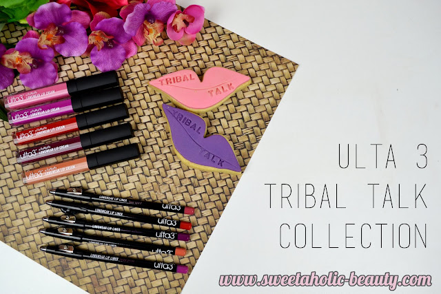 Ulta 3 Tribal Talk Collection Review & Swatches - Sweetaholic Beauty