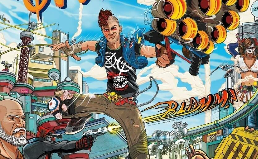 'Sunset Overdrive' Is Now Officially Available On Steam