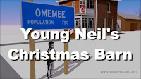 Neil Young Omemee Christmas Barn