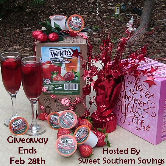 Welch's Fruit Cider Giveaway