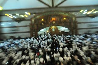 """Subhanallah .. Acara Doa Bersama 1212, Yang Di Gelar di Lapangan Gasibu """"Diputihkan"""" Warga Bandung - Commando"""