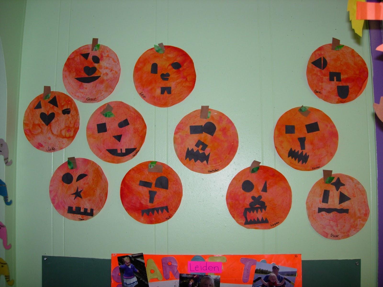 The Early Preschool Classroom This Week S Theme Halloween
