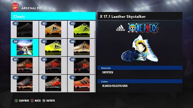 X Luffy Edition Boots PES 2017
