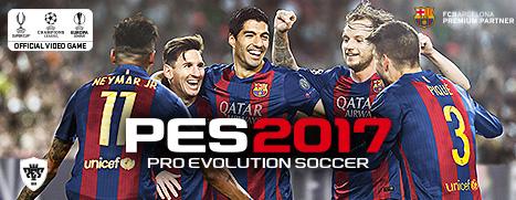 Download PES 2017 Pro Evolution Soccer 2017 + crack free