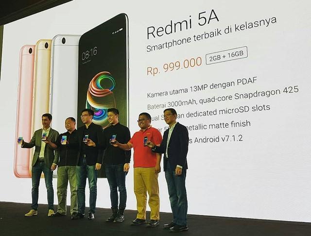 Peluncuran Redmi 5A - Instagram