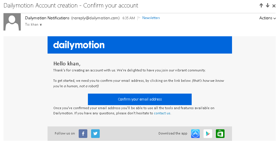 17e42822110d2 Now go to dailymotion.com and sign in to your account. After signing in you  can see the panel at the top of your page which will be like this: