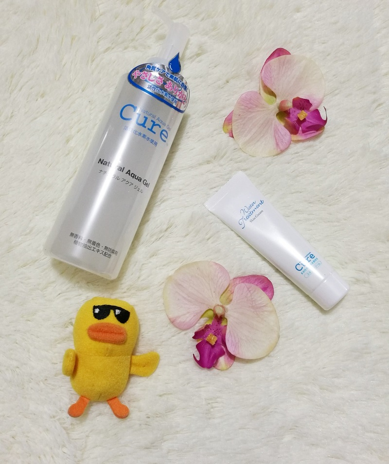 Blair Villanueva shares her experience with CURE Natural Aqua Gel