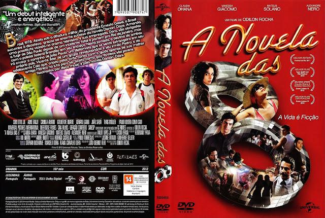 Capa DVD A Novela das 8
