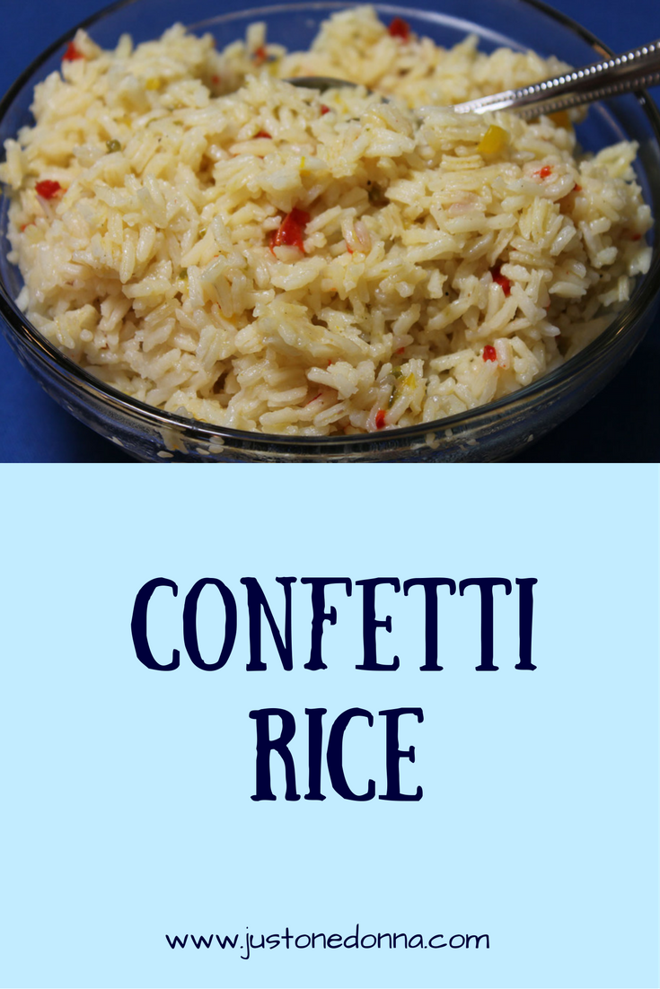 This confetti rice is one of my favorite rice recipes for a quick ...