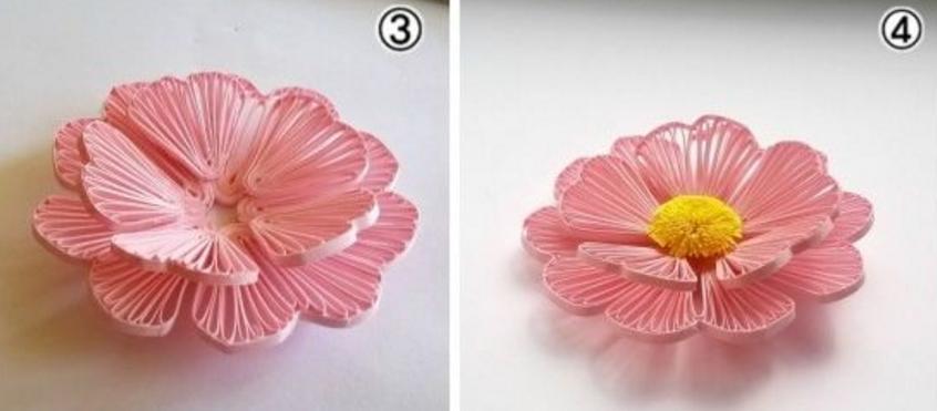 Haz hermosas flores de papel con la t cnica del alfiler for Papel para dibujar