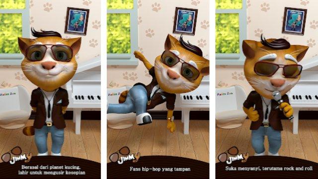 My Talking Jimmy Cat - Aplikasi Android di Google Play