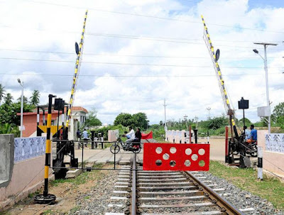 Image result for interlocked level crossings