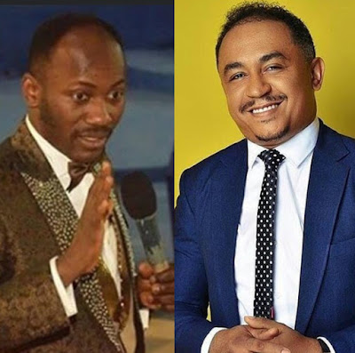 """""""I have every right"""": Daddy Freeze responds to Apostle Suleiman on the controversial tithing subject."""