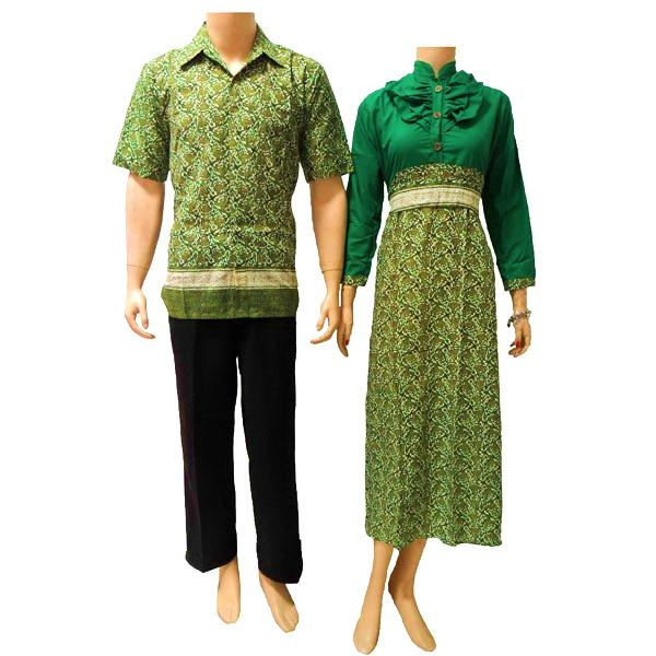 Gambar Model Batik Sarimbit Terbaru 2013: Model Baju Batik Muslim Terbaru 2013