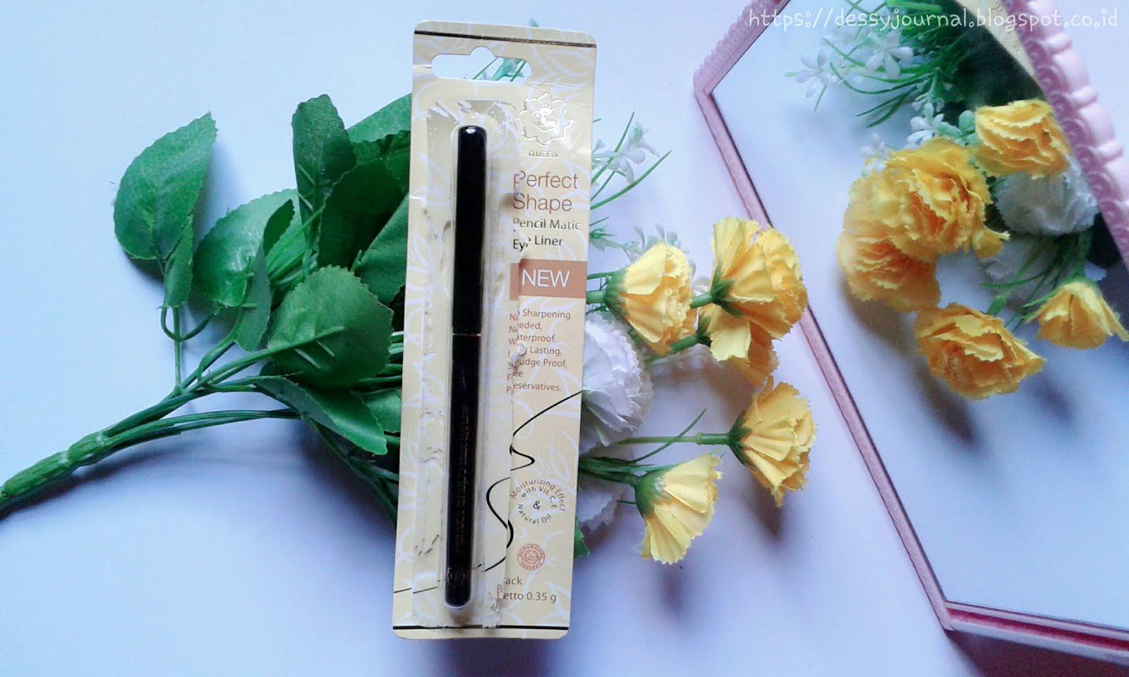 Dessy Journal Juni 2017 Viva Queen Perfect Shape Pencil Matic Eye Liner 035 Ml Hitam Review Black