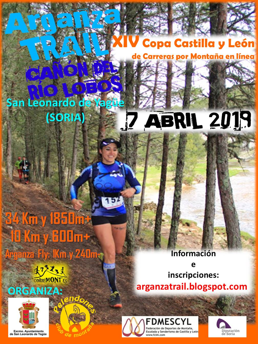 Cartel VIII Arganza Trail