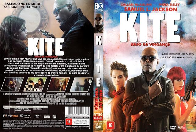 Capa DVD Kite Anjo da Vingança (Oficial)