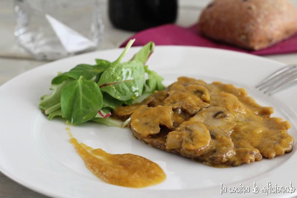 La cocina de aficionado filete de ternera en salsa con - Filetes de ternera en salsa de cebolla ...