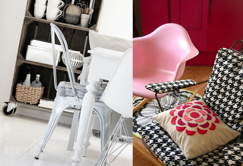 como decorar con la silla Eames