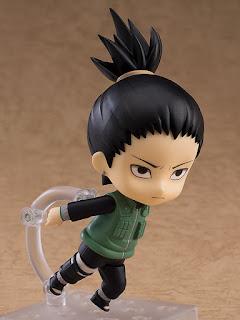 """Nendoroid Shikamaru Nara de """"Naruto Shippuden"""" - Good Smile Company"""