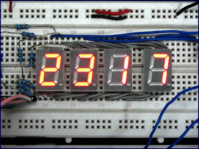 Schematic Digital Clock