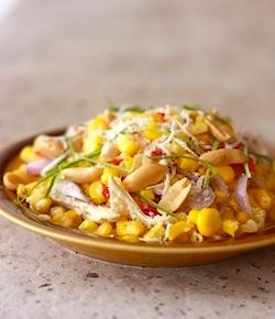 healthy thai salad recipe with corn