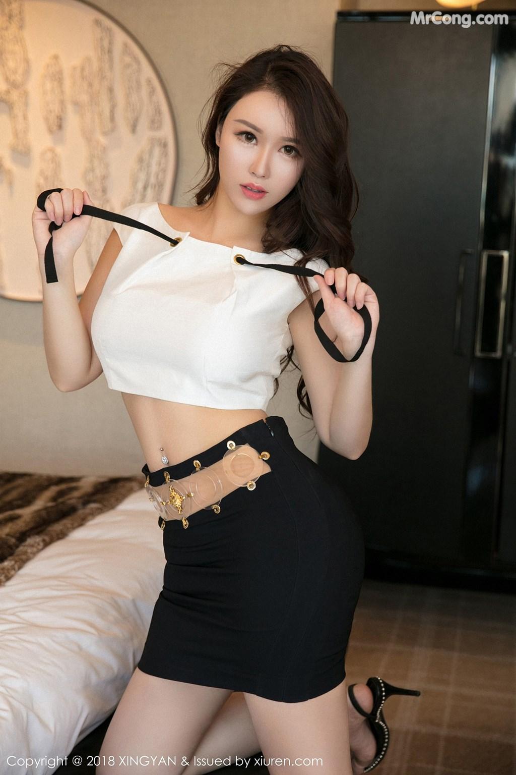 Image XingYan-Vol.078-Egg-MrCong.com-002 in post XingYan Vol.078: Người mẫu Egg_尤妮丝 (50 ảnh)