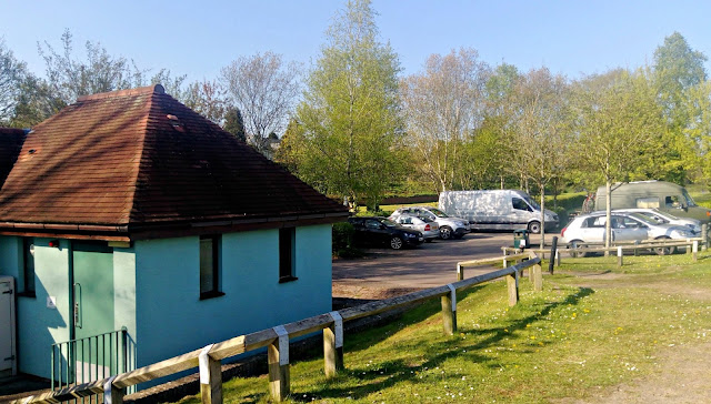 Newnham on Severn picnic site car park