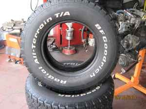 BF Goodrich All-Terrain T/A tires