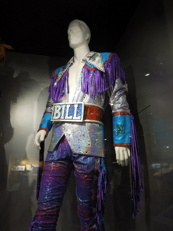 Bill Mamma Mia dance finale costume