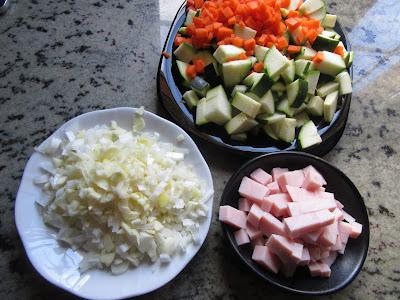 Flanes de verduras olla GM