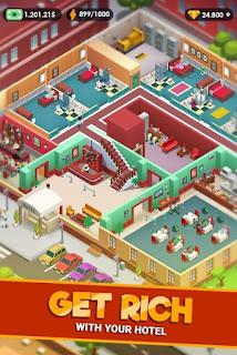 Hotel Empire Tycoon - Idle Game Manager Simulator APK MOD Compras Grátis v 1.9.8