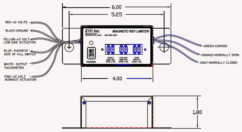 ETC Rev Limiters: Dual-Range Rev Limiter with RPM Swtich