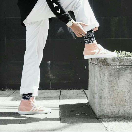 Kaos Kaki Stay cool Socks Motif Relief pria kekinian