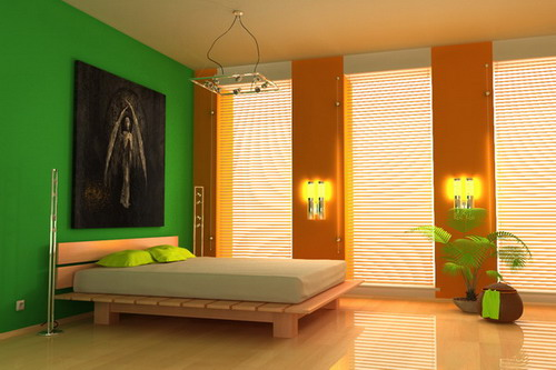 Home Design Centre: Innovative Bedroom Wall Painting Ideas ...