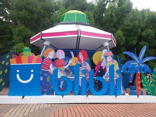 Menikmati Musik Asyik dan Seni yang Cantik di Blibli Fun Festival