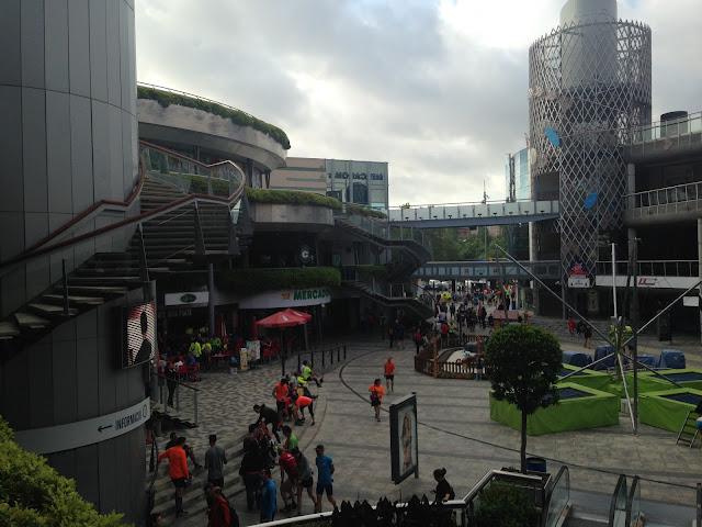 c.c. Heron City ha resguardado a los corredores antes y después de la carrera