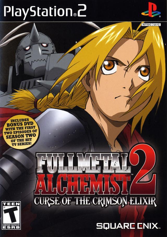 PS2 Fullmetal Alchemist 2: Curse of the Crimson Elixir ...