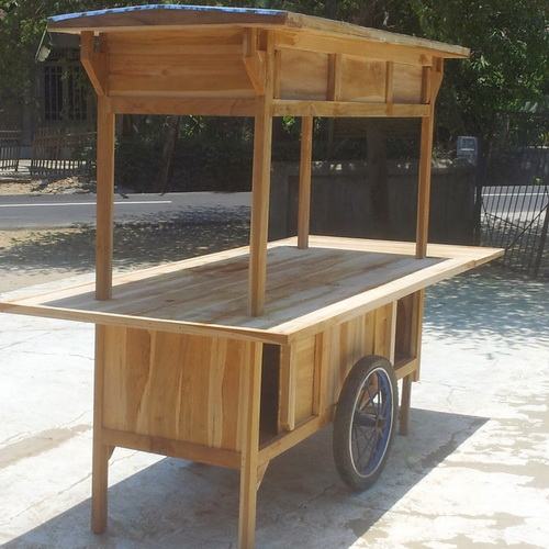 Tinuku.com Traditional design movable food booth for interior cafe, classic restaurant and outdoor patio