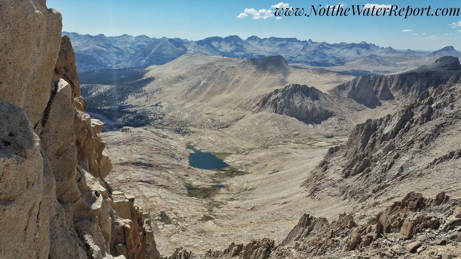 Mount Whitney and Guitar Lake.